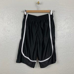 Adidas Boys Sz L Black Shorts San Francisco Padres